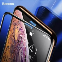 BASEUS 0.3MM DUST-PROOF SCREEN PROTECTOR FOR IPHONE X/XS/XR/XS MAX - iPhone XS MAX