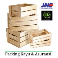 Biaya Pack Kayu & Asuransi JNE