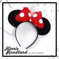 Minnie Headband - bando disney minnie mouse disneyland