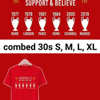 KAOS T-SHIRT DISTRO LIVERPOOL SUPPORT UCL FINAL MADRID 2019