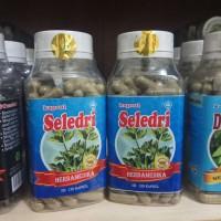 kapsul seledri ekstrak daun seledri isi 120 kapsul