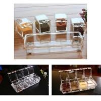 StarHome Rak Tempat Bumbu Seasoning Box Serbaguna 4 in 1 - Arklirik -