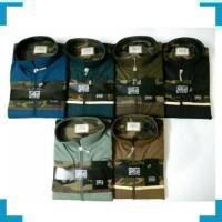Gamis Pria MSS 451 Jubah Al Asheel Kombinasi Army - El Ashfaa Boutique