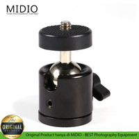Midio Mini Ball Head S1 360 with 1/4 Screw