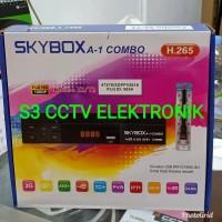 RECEIVER SKYBOX A1 COMBO BISA WIFI IP TV YOUTUBE ANTENA TV ANTENA P e