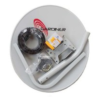 Dish Antena Parabola Mini ODU 45cm Ninmedia Receiver Matrix S2 Mpeg4 g