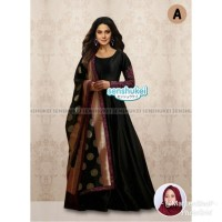 Import 4-14th Senshukei 42 A Gamis Gaun Baju Syari India Anak Hitam
