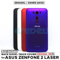 BACK DOOR HOUSING BACK COVER PANEL ASUS ZENFONE 2 LASER ZE500KL Z00ED - black