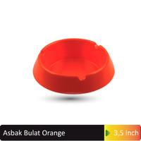 Asbak Bulat 3.5 inchOrange MELAMINE GLORI 3002