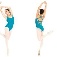 Leotard Triple cross adult (baju ballet)