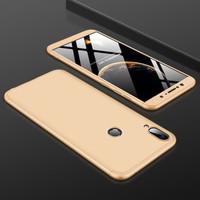 Azus Zenfone Max Pro m1 Slim 360 Protection Matte Full Hard Case Cover