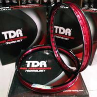 Velg TDR Two Tone Dual Tone model WX Shape ukuran Ring 17 140 x 160 wa