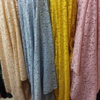 bahan brokat katun Fatmawati / kain blouse kebaya harga ½ meter