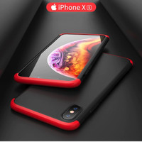 iPhone X / Xs Armor 360 Full Cover Protection Baby Skin Hard Case 1104