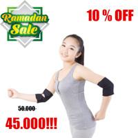 1 pasang Tourmaline Armband Elbow Hangat Panas Pad Lengan Sikut