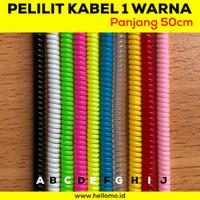 Pelindung Kabel Charger Universal / Kabel Pelindung / Cord Protector - Putih