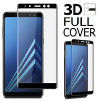 SAMSUNG A8 2018 Tempered Glass Anti Gores Cover 5D 9H 6D