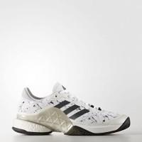 Sepatu Tennis Adidas Barricade 2017 Boost - White Night Silver
