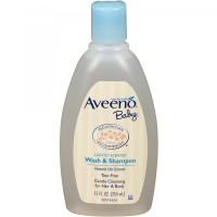 Aveeno Baby Lightly Scented Wash & Shampoo - 354 ml
