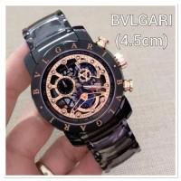 Jam Tangan Pria BVLGARI Diagono Black Rose Premium