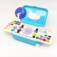 Mainan Anak Frozen Fashion And Nail Art Koper Alat Make Up
