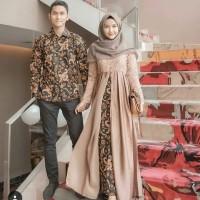BAJU MUSLIM MURAH NUNBATIK COUPLE DRESS KELUARGA