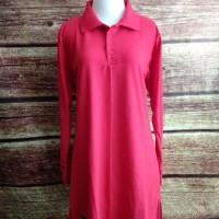 paling baru dan termurah Kaos Polo Shirt Lacoste Muslimah Panjang