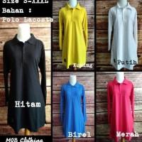 paling baru dan termurah Jumbo XXXL Baju Kaos Krah Tunik Muslimah Polo