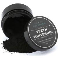 teeth whitening activated organic natural charcoal bubuk arang 30gram