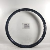 Velg Almini TDR W Shape Warna Black / Hitam Ukuran 140 Ring 17