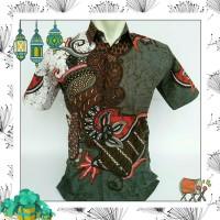 Model Kemeja Batik Modern Pria Khas Pekalongan    Batik Wayang Blok