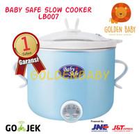 Baby Safe Digital Slow Cooker LB007 Alat Masak Makanan Bayi - Biru - T