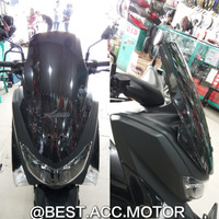 Visor / Windshield Yamaha NMAX Modish Model Tinggi Aksesoris Motor