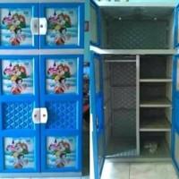 lemari plastik gantung apolystar biru