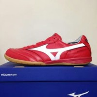 king off sport sepatu futsal mizuno morelia in high risk red Q1GA1800
