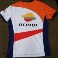 Moto GP Marc Marquez MM 93 Repsol T-shirt Official Apparel - Kaos Orig