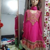 Baju India anak new model n motif lengan pendek hrg promo
