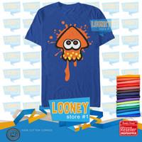 T-Shirt NINTENDO SPLATOON INKLING SQUID / Kaos NINTENDO SPLATOON