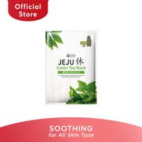 SNP Jeju Rest Green Tea Sheet Mask