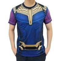 Baju Kaos Thanos Avengers AndGame Superhero Premium