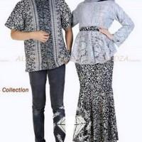 TERBARU baju couple kemeja hem kebaya rok batik duyung kapel cople T