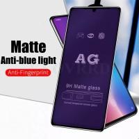 ANTI BLUE LIGHT OPPO F5 TEMPERED GLASS MATTE FULL COVER