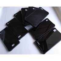 W77 Anti Crack Fuze Full Black Zenfone 5Z / Zs620Kl / Akrilik / Fiber