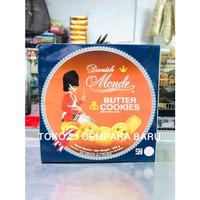 Monde Butter Cookies Kaleng 908 gram | Biskuit Monde Kaleng Murah 908g