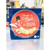 Monde Butter Cookies Kaleng 454 gram | Biskuit Monde Kaleng Murah 454g