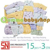 Paket Murah Perlengkapan Baju Bayi Baru Lahir/New Born Mocha