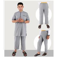 XIXRGS,Baju koko setelan busana muslim pria remaja cowok laki-laki