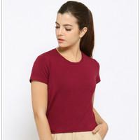 Veyl Store Serena Atasan Wanita Warna Merah Marun