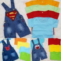 Baju anak perempuan / baju anak bayi / overall / baju kodok / mickey