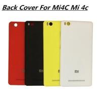 Xiaomi MI4C Mi4i Backdoor Back Case Tutup Belakang Black Red edition